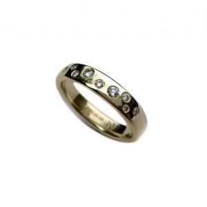 Diamond scatter ring
