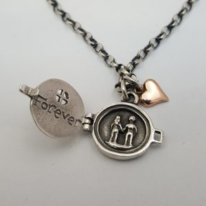 Forever pendant by Nick Hubbard